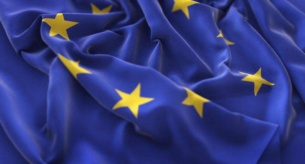 Odzyskiwanie należności w Unii Europejskiej - flaga