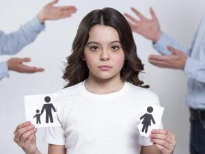 Opieka nad dzieckiem a rozwód - dziewczynka
