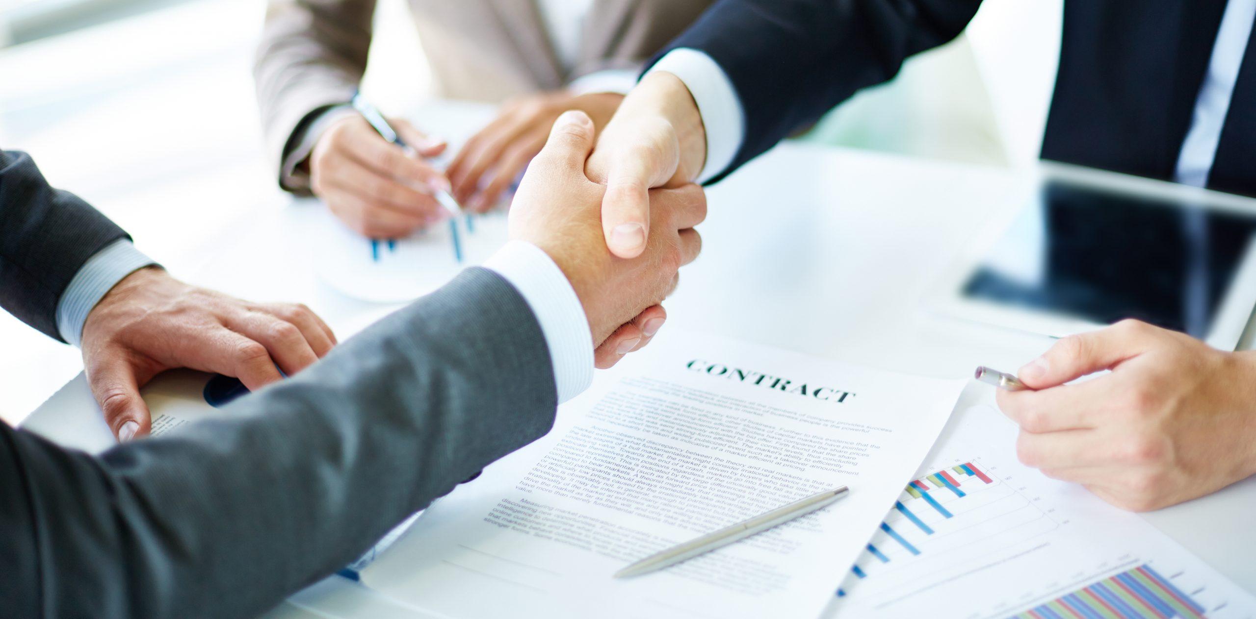 Jak zarejestrować spółkę z o.o. - uścisk dłoni