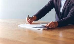 Prawo odstąpienia od umowy - biurko