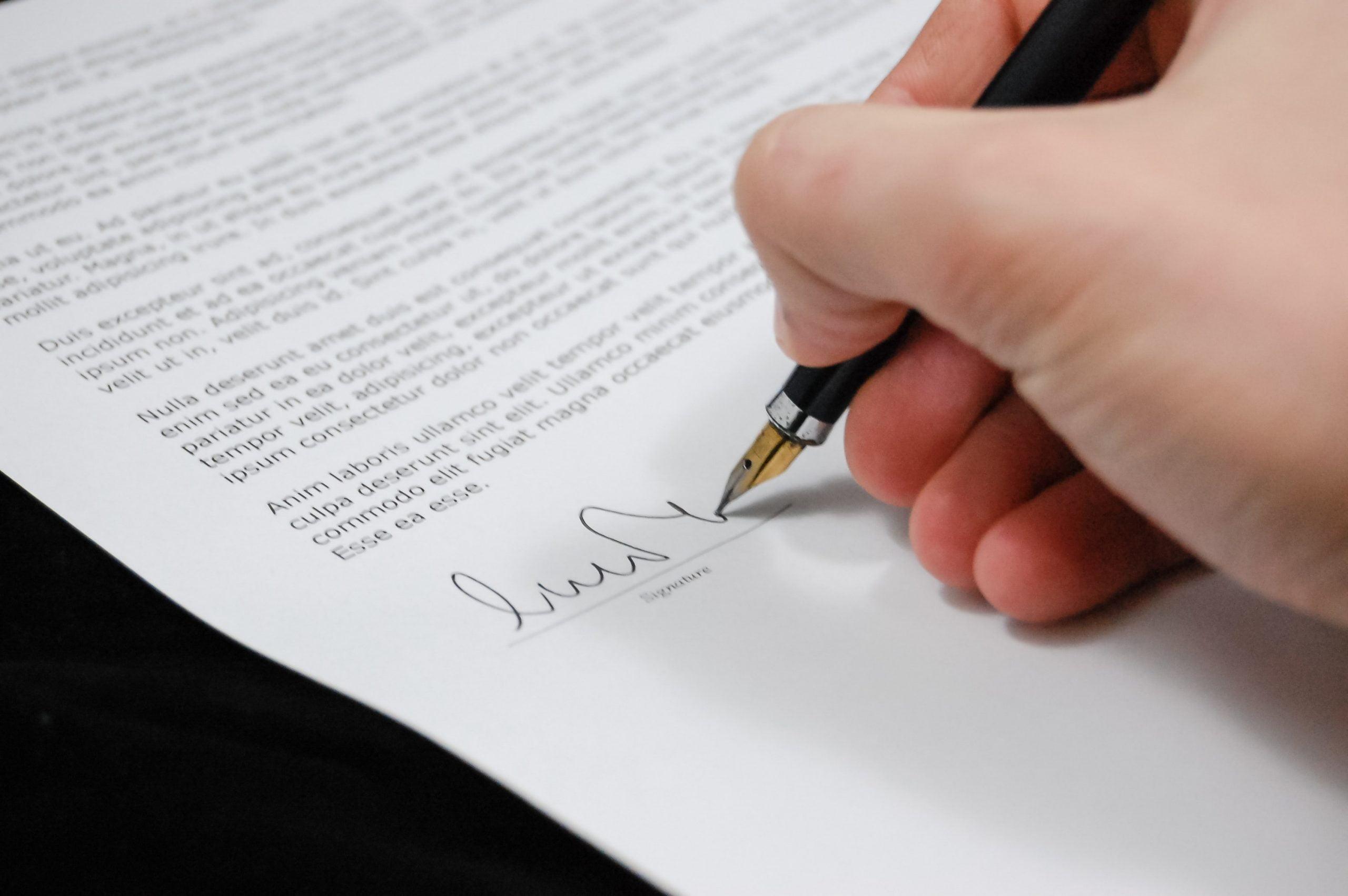 Czym jest wydziedziczenie - podpis