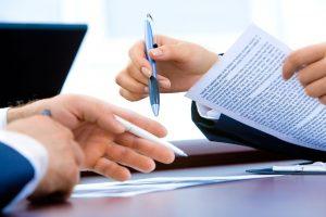 Umowa o pracę - długopis