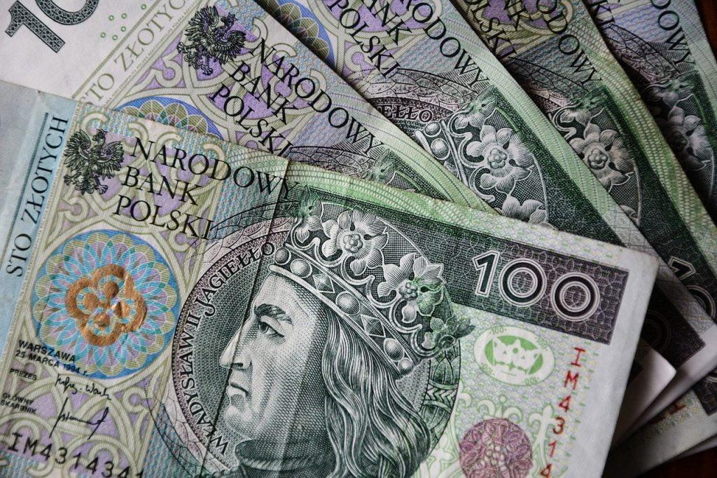 Wypłata dywidendy - waluta polski złoty