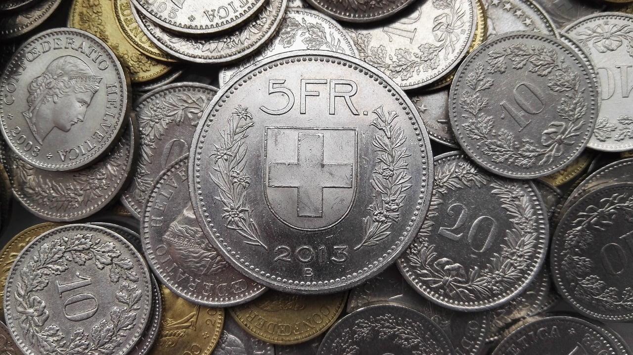 Frankowicze - pieniądze frank Szwajcarski