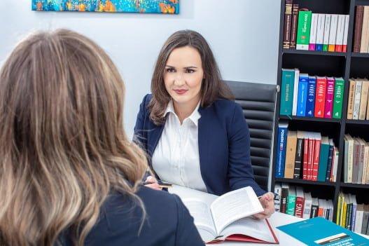 Adwokat w pracy