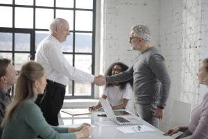 Spotkanie zarządu spółki