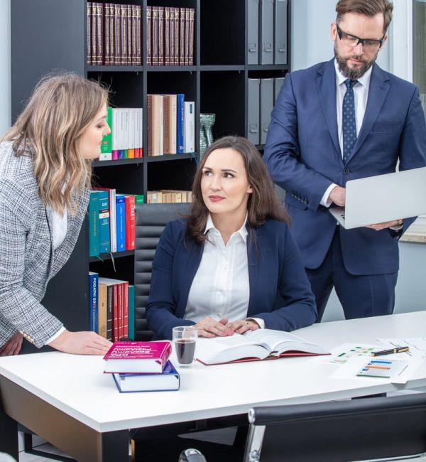 Spotkanie w kancelarii