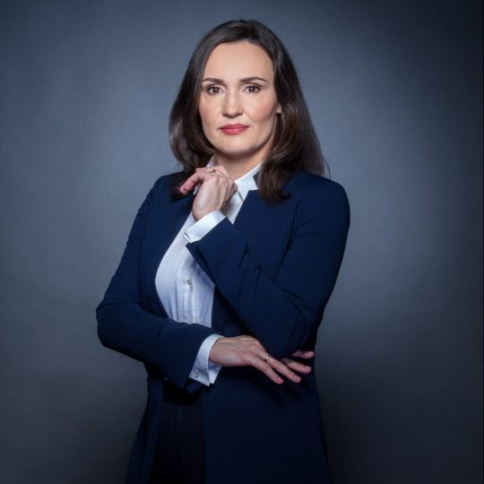 Adwokat Patrycja Butny w pracy